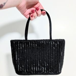 90s Beaded Mini Handbag